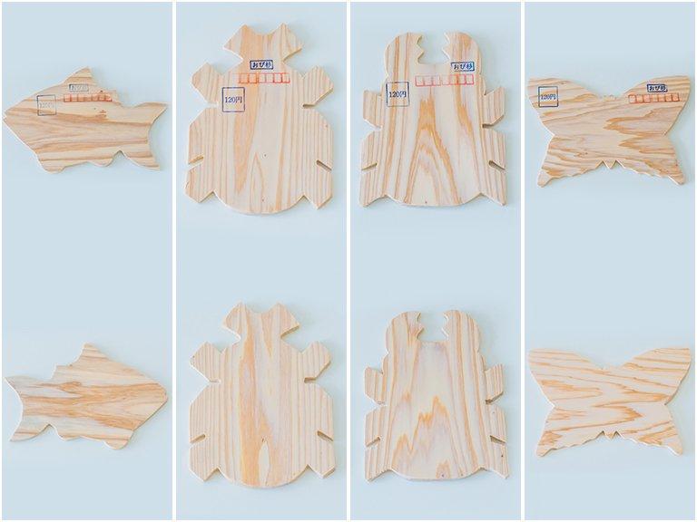 おび杉木の葉書5枚セット