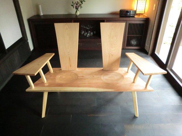 Obisugi 癒しのベンチ01
