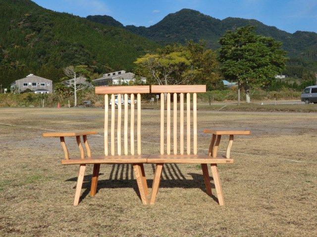 檜 癒しのベンチ セパレートタイプ