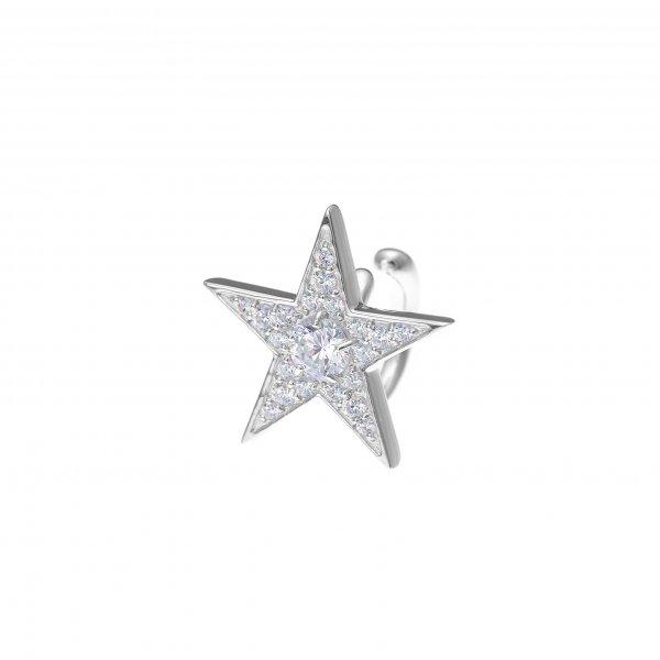 Star Struck ear cuff(シルバー)