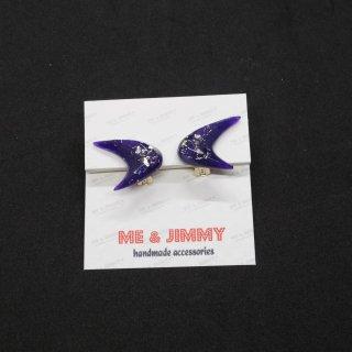 Bat Boomerang Earring