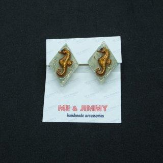 Vintage Seahorse Earring
