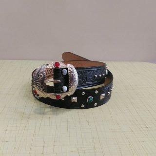 Studded&Jeweled Belt