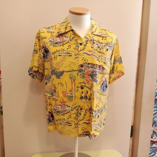 "Hawaiian Shirt ""The Song Of Hawaii"""