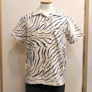 Vintage Style 50'S Zebra Box Shirt S/S