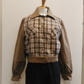 Brown Plaid Jacket