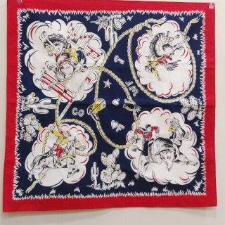 Vintage 1950's Style Bandana handkerchief