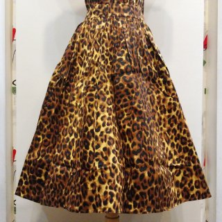 Into The Jungle Leopard Bettie Skirt