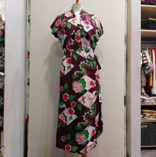 1940's Vintage Style Hawaiian Bolero Dress