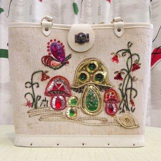 1960s  Vintage Jewel Tone bag