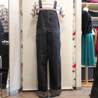 9.5oz Blue Denim Low Back Overall