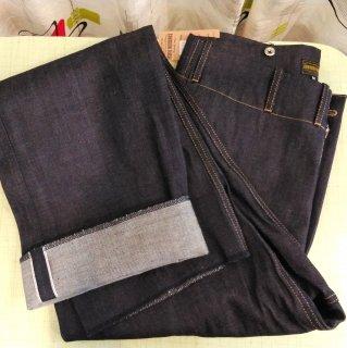 1940s Style Denim Prison Pants