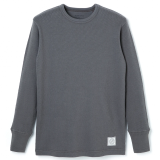Crew Neck Thermal -Gray-