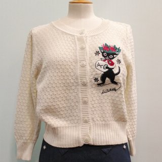 Muffy on ice cardigan