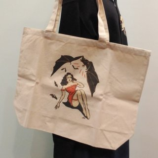 A Night of Horror! Tote Bag