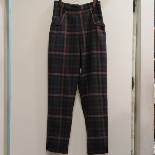 Plaid Wing Pants