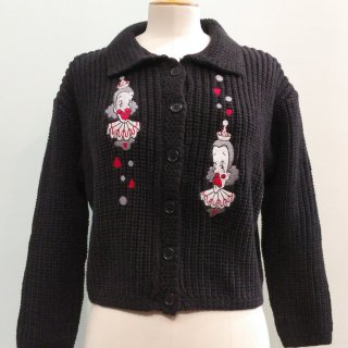 Dear Clown Knit Sweater
