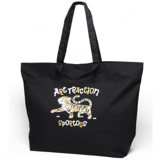 Tiger 2Way Tote (Black/Natural)