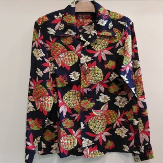 "<img class='new_mark_img1' src='https://img.shop-pro.jp/img/new/icons6.gif' style='border:none;display:inline;margin:0px;padding:0px;width:auto;' />RAYON HAWAIIAN SHIRT ""PINEAPPLE""  L/S"