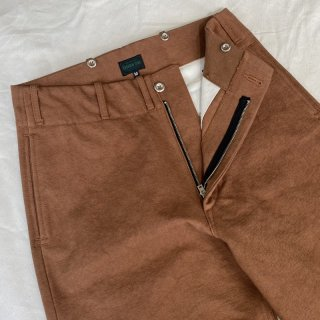 <img class='new_mark_img1' src='https://img.shop-pro.jp/img/new/icons6.gif' style='border:none;display:inline;margin:0px;padding:0px;width:auto;' />Vintage 1945 Jail Style Pants Brown