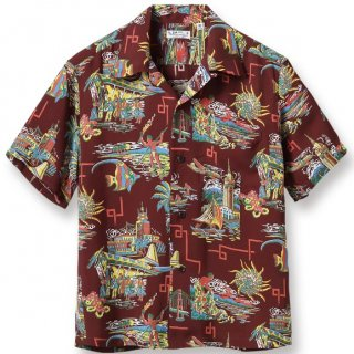 "<img class='new_mark_img1' src='https://img.shop-pro.jp/img/new/icons6.gif' style='border:none;display:inline;margin:0px;padding:0px;width:auto;' />RAYON HAWAIIAN SHIRT ""UNITED AIRLINE"" S/S"