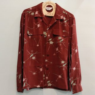 "<img class='new_mark_img1' src='https://img.shop-pro.jp/img/new/icons6.gif' style='border:none;display:inline;margin:0px;padding:0px;width:auto;' />HIGH DENSITY RAYON OPEN SHIRT ""ATOMIC"" L/S"