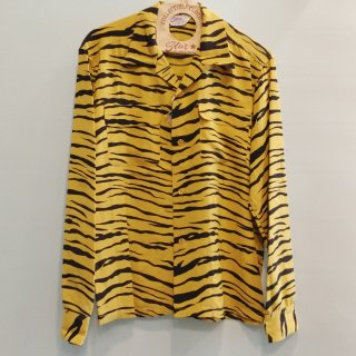 "<img class='new_mark_img1' src='https://img.shop-pro.jp/img/new/icons6.gif' style='border:none;display:inline;margin:0px;padding:0px;width:auto;' />HIGH DENSITY RAYON OPEN SHIRT ""TIGER"" L/S"