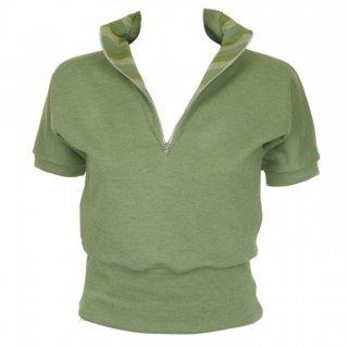 Green Zipper Top