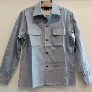 1950's Vintage Style Cotton Box Shirt  L/S