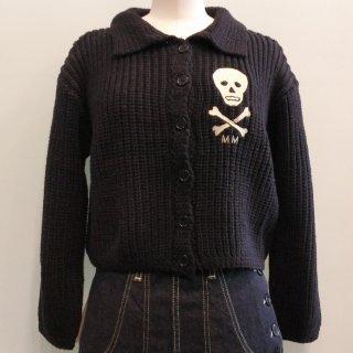 MM Skull Knit Sweater