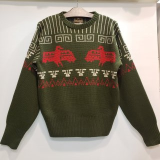 <img class='new_mark_img1' src='https://img.shop-pro.jp/img/new/icons6.gif' style='border:none;display:inline;margin:0px;padding:0px;width:auto;' />JACQUARD KNIT CREW NECK SHIRT