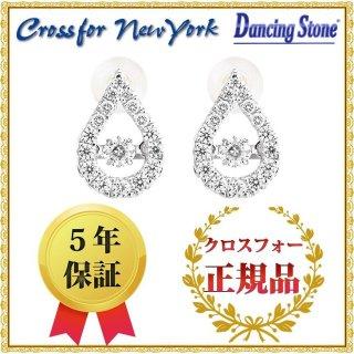 ダンシングストーン ピアス クロスフォーニューヨーク ダンシング クロスフォー 耳飾り NYE-106