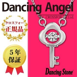 ダンシングストーン ネックレス クロスフォー ダンシングエンジェル ペンダント ANG-011