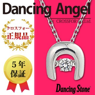 ダンシングストーン ネックレス クロスフォー ダンシングエンジェル ペンダント ANG-017