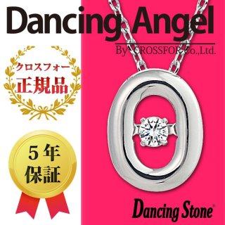ダンシングストーン ネックレス クロスフォー ダンシングエンジェル ペンダント ANG-018