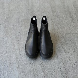 DOUBLE FOOT WEAR - Grossman BLACK LEATHER