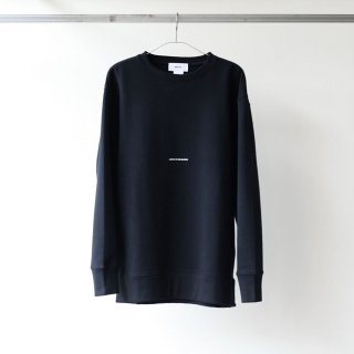 BREATHE. (ever so soft) - INSTRUCTION CREW SWEAT 'LISTEN TO THE SILENCE' (BLACK)