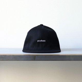 prasthana - 6panel flatvisor 刺し子 (black)