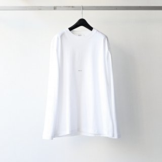 <img class='new_mark_img1' src='https://img.shop-pro.jp/img/new/icons54.gif' style='border:none;display:inline;margin:0px;padding:0px;width:auto;' />BREATHE. (ever so soft) - INSTRUCTION LS TEE 'INTRO' (WHITE)