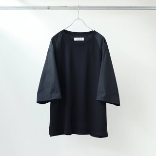 prasthana - switch raglan M/S (black × black)