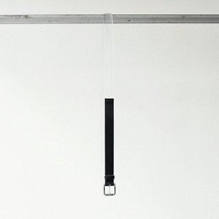 THEE - belt (black × clear)