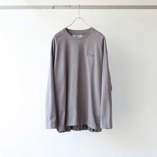 Dulcamara - バルーンロンT (Smoke Gray)