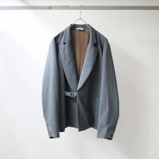foof - wool unconstructed jacket (grey)