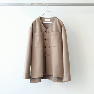 bunt - SHIWADAN LOOP BUTTON JACKET (Brown)