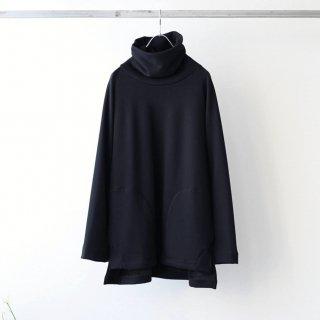 prasthana - mouton jersey turtle neck (black)