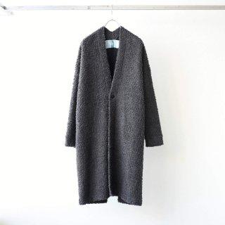 Dulcamara - ナッピングボアガウン (Charcoal Gray)