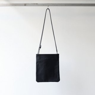 20/80 - CANVAS #6 TWO BAGS WITH LEATHER STRAP (BK/BK)