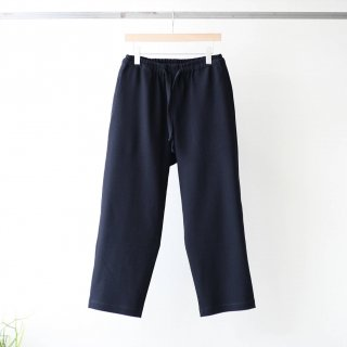 bunt - KNITTED CORDUROY COMFY PANTS (NAVY)