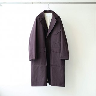 SOUMO - W2MC COAT (Dark Brown)