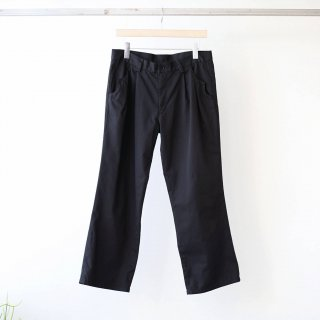 foof - ankle length flare pants (black)